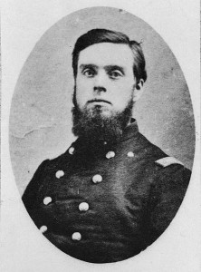 portrait of Civil War officer