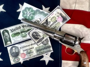 Greenbacks and Pistol