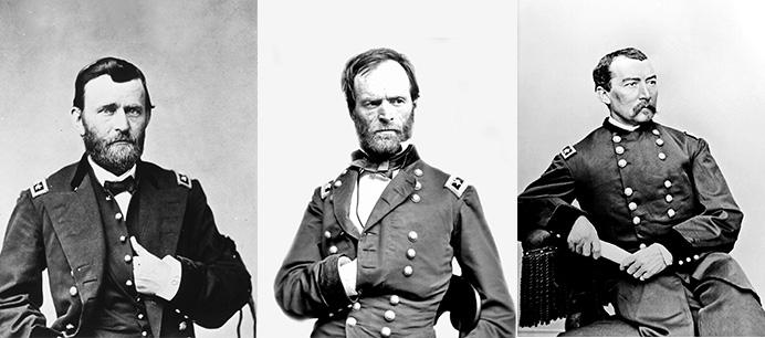 Grant, Sherman, Sheridan