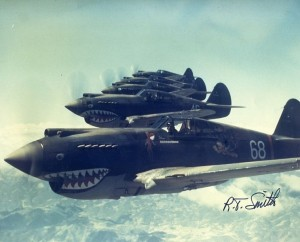 R.T. Smith photo, 1942. Hell's Angels, The Flying Tigers - China